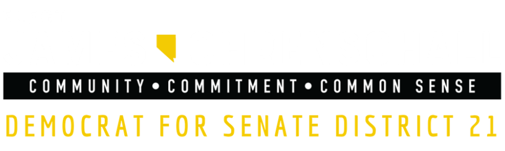 James Ohrenschall | Democrat for Nevada State Senate District 21